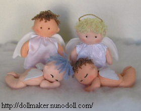 angel sewing pattern