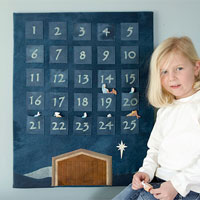 felt advent calendar craft instructions