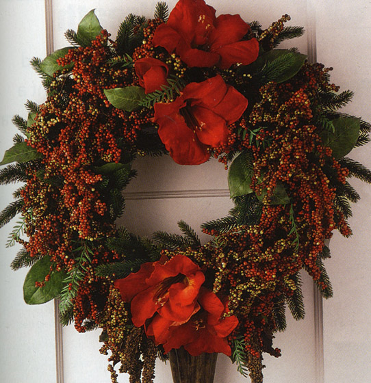 How to make a christmas wreath christmas decoration crafts Making wreaths