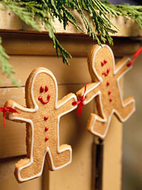 How to make Gingerbread Cookie Garland