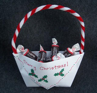 Christmas candy cup