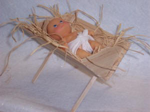 How to make a manger