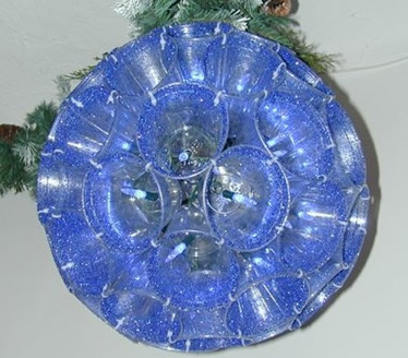 Sparkle ball Christmas craft