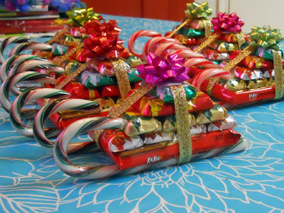 Candy sleigh craft