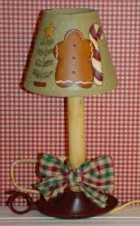 Gingerbread Lamp Craft instructions