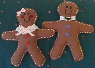 gingerbread rag doll pattern