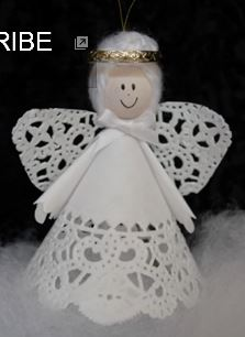 craft ideas angel ornament crafts from christmas decoration crafts