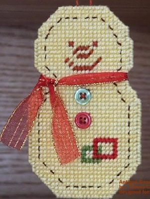 Antique Snowman ornament