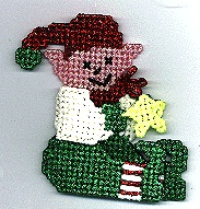 Country Elf Ornament