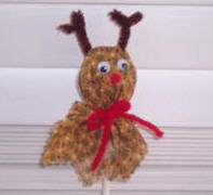 reindeer lollipop craft