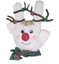 Reindeer glove craft