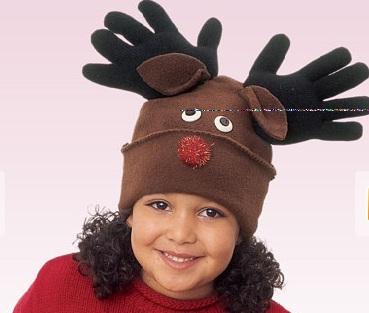 reindeer hat kids will love this simple reindeer hat great gift idea