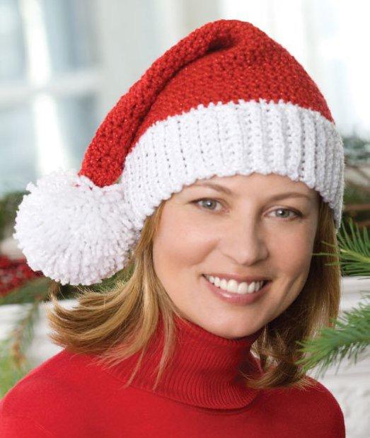 Free Crochet Pattern Santa Hat Baby : How to make Santa crafts; elf craft ideas