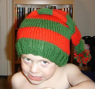 Knitting Pattern For Elf Hat : How to make Santa crafts; elf craft ideas