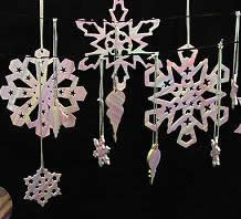 Polymer clay snowflake tutorial