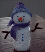 Easy kids snowman craft