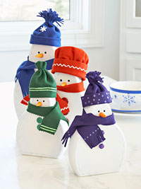 Wooden Snowman craft