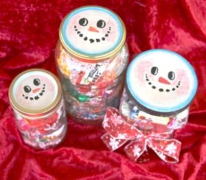 Mason Jar Christmas Craft Ideas