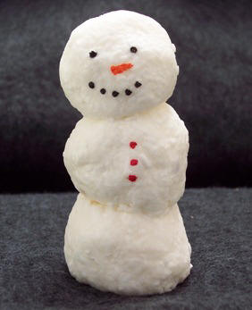 Soap Snowman craft