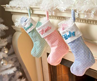 sewing pattern Christmas stocking