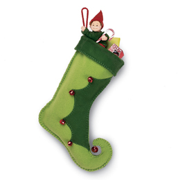 Elf Boot Christmas stocking