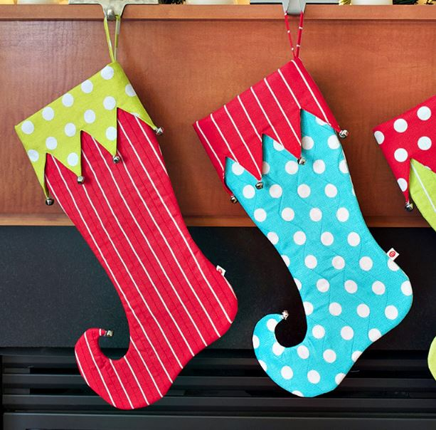 Christmas Stocking Patterns; Christmas Decoration Crafts