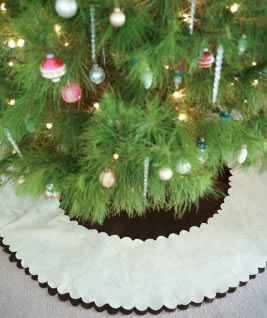 no sew felt tree skirt