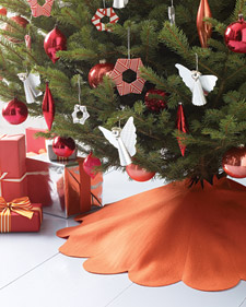 tree skirt sewing pattern