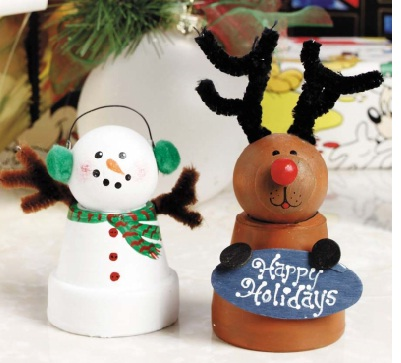 Craft Ideas Michaels on Craft Ideas To Make Reindeer Christmas Ornaments From Christmas