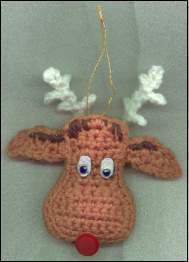 Free Crochet Reindeer Ornament Patterns : Christmas craft ideas to make reindeer ornaments