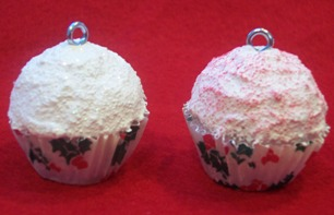 Cupcake Christmas ornament craft