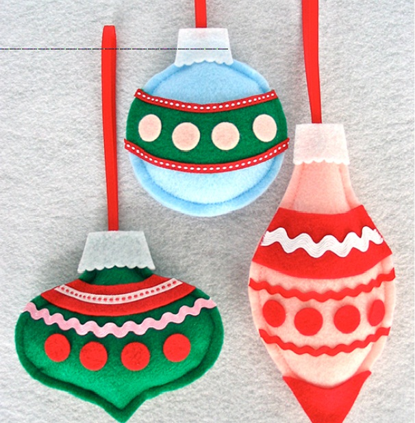 Felt Christmas Ornament Patterns