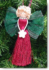 Tassel Angel ornament craft project