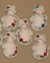 Holiday felt ornaments