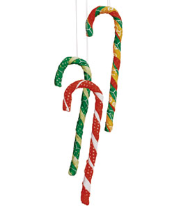 fabric and pipe cleaner crafts for Christmas